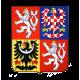 Státní znak - PLASTOVÝ, BAREVNÝ - 37x43cm - 2mm