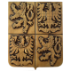 Státní znak – PATINOVANÝ, SÁDROVÝ - 32x40x4cm
