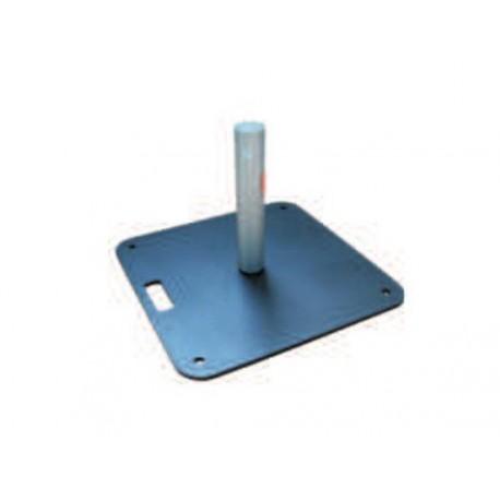 Deska s patkou 48x48 cm, 15kg, ocel