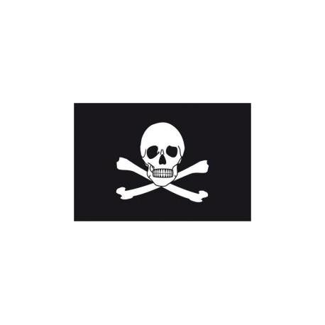 Pirátská vlajka kosti