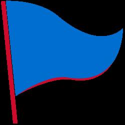 Stožár na vlajky - Přenosný